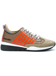 Dsquared2 '251' Sneakers Nude And Neutrals