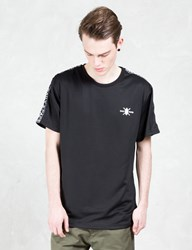 Daily Paper Black Tape Logo T Shirt
