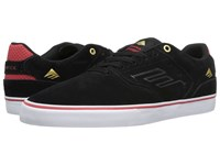 Emerica The Reynolds Low Vulc Black White Red Men's Skate Shoes
