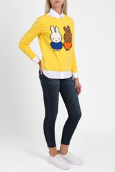 Chinti And Parker Women S Miffy Peek A Boo Jumper Boutique1 Yellow