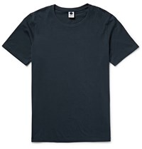 Nn.07 Pima Cotton Jersey T Shirt Midnight Blue