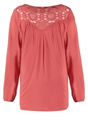 S.Oliver Blouse Rusty Red Brown