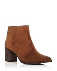 Dolce Vita Lennon Western Pointed Toe Booties Acorn