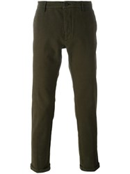 Pence Slim Fit Chinos Green