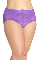 Hanky Panky Plus Size Women's 'Retro Vikini' Briefs Royal Purple