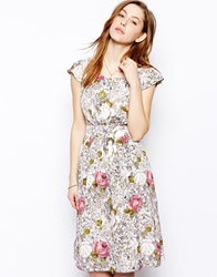 Emily And Fin Emily And Fin Gloria Rose Print Dress