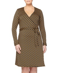Jb By Julie Brown Horse Print Wrap Dress Fieldston