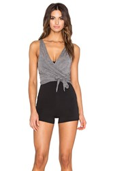 Free People In Balance Bodysuit Black