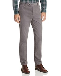 Brooks Brothers Milano Slim Fit Corduroy Pants Grey