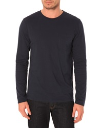 Menlook Label Luc Navy T Shirt