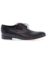 L'eclaireur Made By Narrow Derby Shoe Black