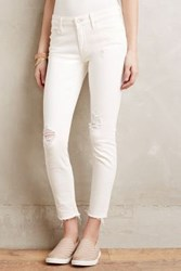Anthropologie Mother Looker Ankle Fray Jeans Tea And Biscuits 32 Pants