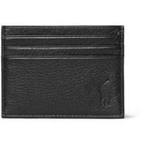 Polo Ralph Lauren Full Grain Leather Cardholder Black