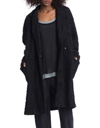Plenty By Tracy Reese Lace Trench Coat Black