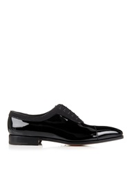 Salvatore Ferragamo Normand 2 Patent Leather Oxford Shoes