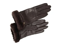 Ugg Classic Leather Smart Glove Brown Dress Gloves