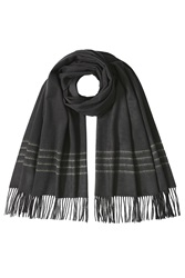 Rag And Bone Rag And Bone Merino Wool Scarf Black