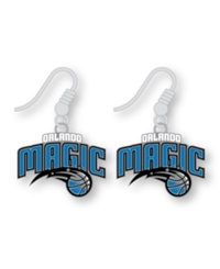 Aminco Orlando Magic Logo Drop Earrings Team Color