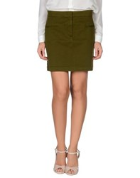 L'autre Chose L' Autre Chose Skirts Mini Skirts Women Dark Green