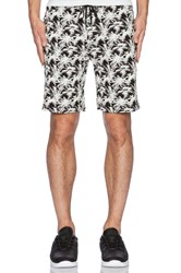 Stampd Warm Up Short Black And White
