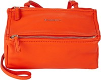 Givenchy Pandora Mini Messenger Orange