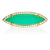 Irene Neuwirth Women's Marquise Faced Ring Green No Color Green No Color