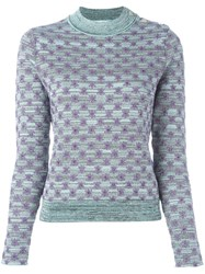 Carven 'Menthe' Jumper Blue
