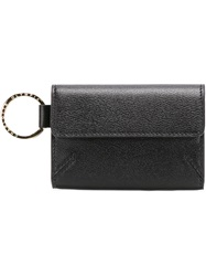 Charlotte Olympia Foldover Wallet Black