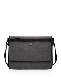 Ted Baker Nano Contrast Nylon Messenger Bag Gray