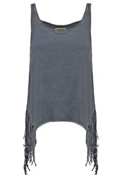 Khujo Airote Top Charcoal Anthracite