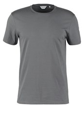 Ck Calvin Klein Travor Basic Tshirt Grey Dark Gray