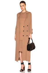 Soyer Summer Trench Coat In Brown