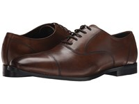 Gordon Rush Dillon Chestnut Leather Men's Lace Up Cap Toe Shoes Brown