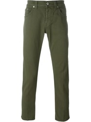 Dondup Classic Slim Jeans Green