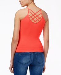 Energie Juniors' Penny Strappy Cami Top Fiery Coral