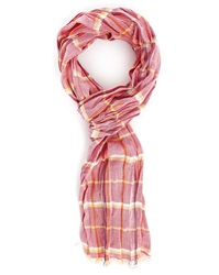 Wrangler Red Check Scarf