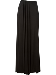 Iceberg High Waisted Pleat Skirt Black