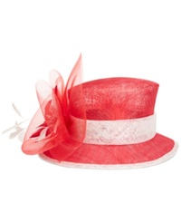 August Hats Tulip Cloche Red