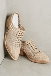 Anthropologie Jeffrey Campbell Armadillo Mules Neutral