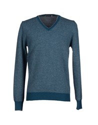 Giorgetti Knitwear Jumpers Men Turquoise