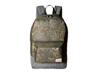 Quiksilver Night Track Print Backpack Dusty Olive Noised Camo Backpack Bags Black