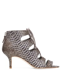 Delman Tryst Blusn Leather Booties Azure
