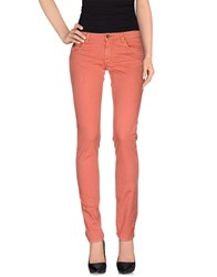 Unlimited Trousers Casual Trousers Women Coral