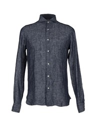 Guy Rover Shirts Shirts Men Dark Blue