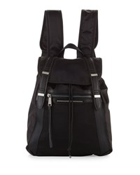 French Connection Indy Nylon Backpack Black