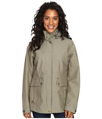 Royal Robbins Mobilizer Waterproof Trench Fern Women's Coat Green