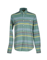 Stussy Shirts Shirts Men Dark Blue