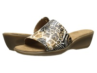 Aerosoles Badminton Safari Print Women's Slide Shoes Animal Print