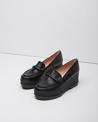 Robert Clergerie Yokole Wedge Loafer Black