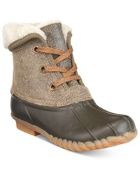 Sporto Diana Fold Over Booties Women's Shoes Distressed